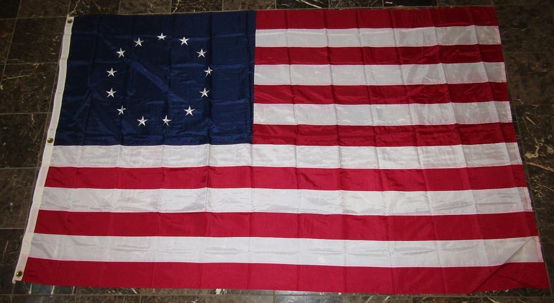 最新情報 6 x 10刺繍縫製Betsy Ross Ross Historical SolarMaxナイロンフラグ6 ' 10刺繍縫製Betsy x10 ' 'グロメット B01N7CNGS4, シチューとステーキの店 ルボンヌ:0ebd356c --- beautycity.in