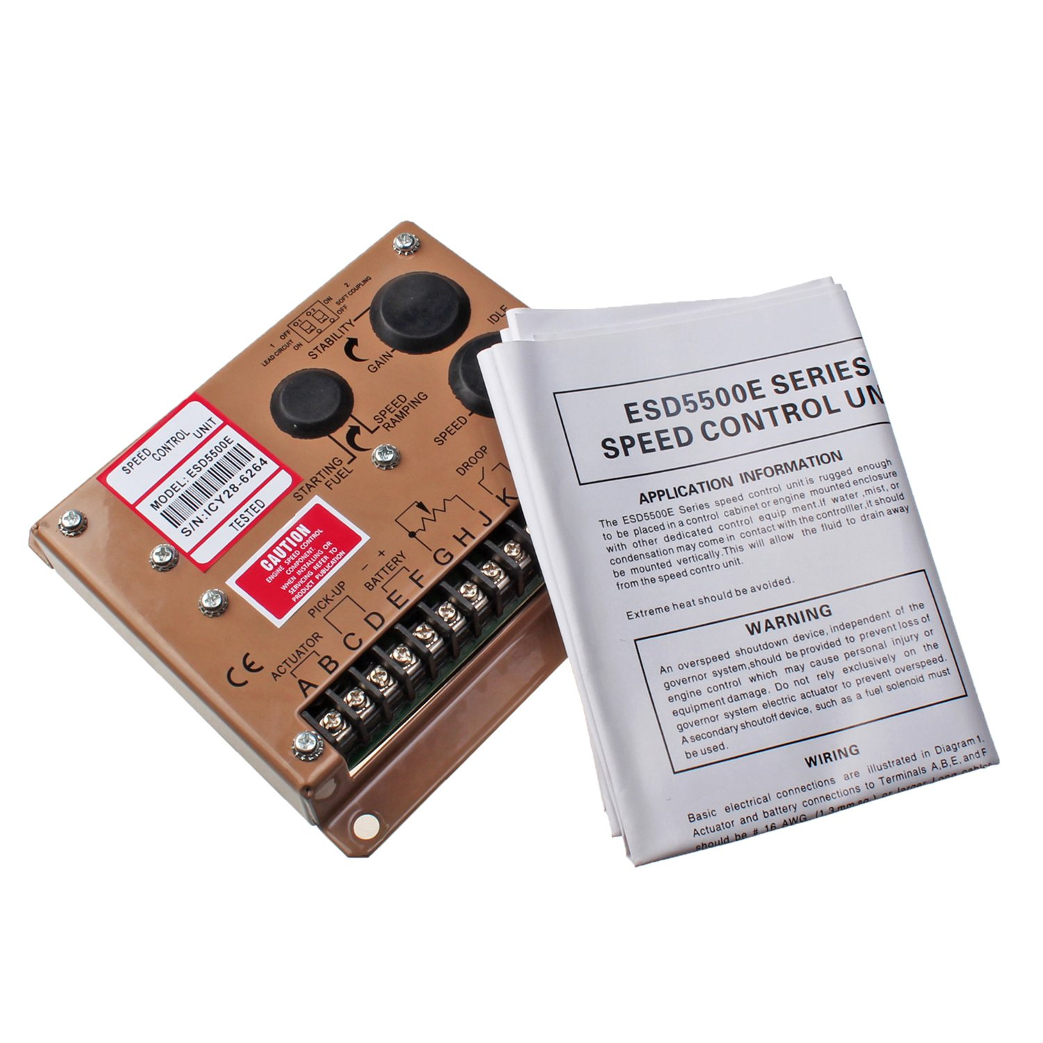 Mover Parts Electronic Engine Speed Controller Governor ESD5500E Generator Genset Parts