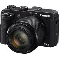Canon Powershot G3X Digital Camera(G3X) 3.2 Inch display,Black (Australian warranty)