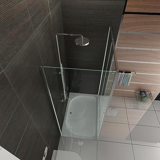 Cabina de ducha con puerta corredera/EchtGlas Mampara/Alpen Berger ...