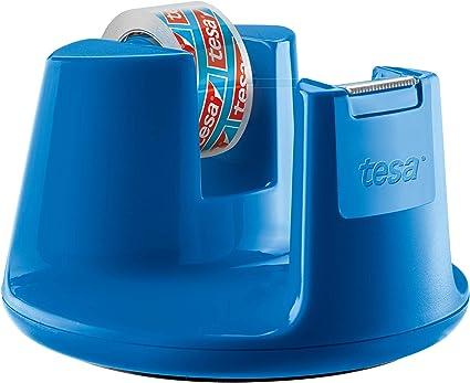 Dispenser Blu da Tavolo per Nastro Adesivo