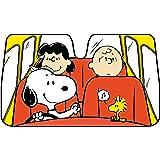 ボンフォーム サンシェード スヌーピードライブ ホワイト 75x130cm 軽・普通車用 7569-05W