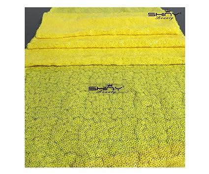 Amazon Com Shinybeauty Yellow Table Runner 12x108 Inch Sequin Table