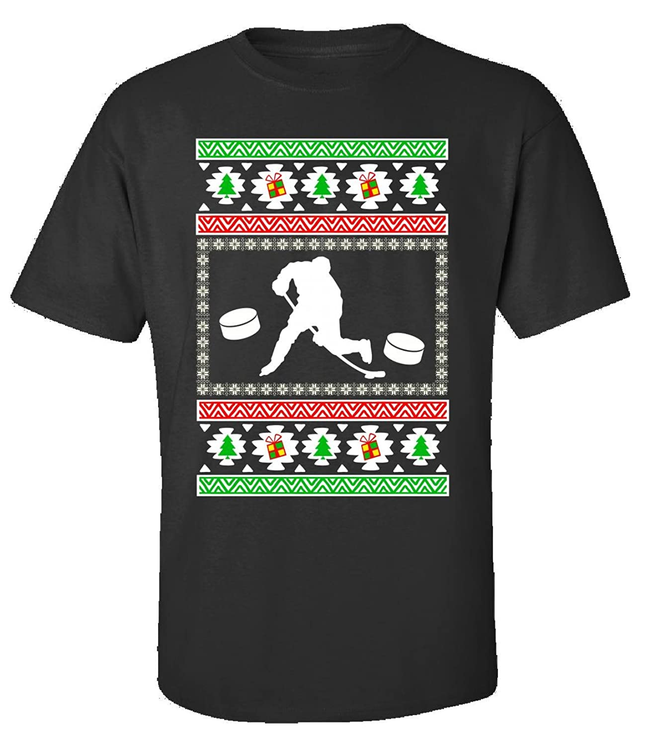 Ice Hockey Gifts For Men Ugly Christmas - Adult Shirt