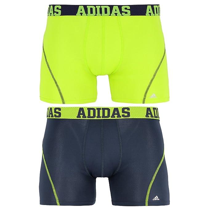 Adidas de Hombre Rendimiento de Deporte Climacool Tronco Ropa Interior (2 Unidades), Hombre, 103741, Slime/Urban Sky/Urban Sky, Medium: Amazon.es: Deportes ...
