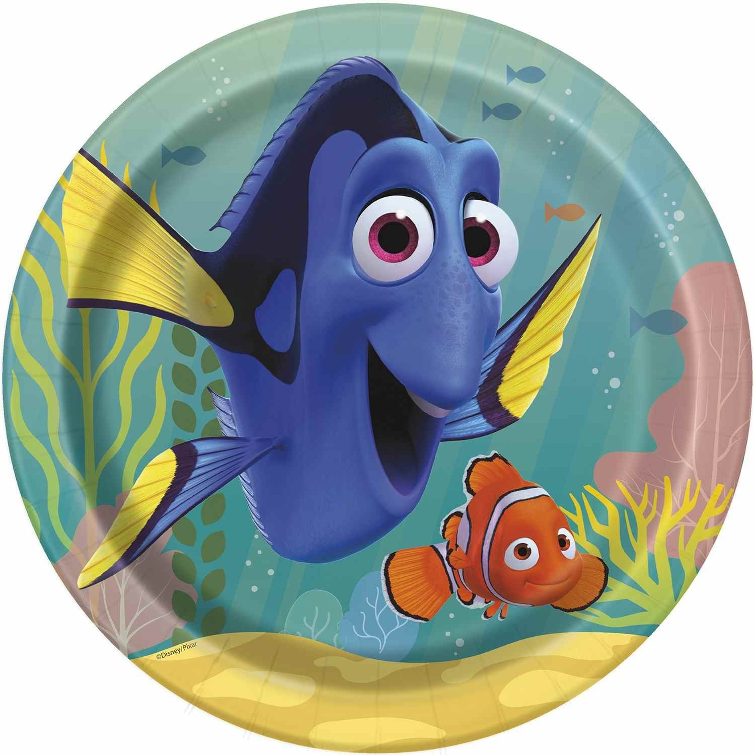 Finding Dory Dinner Plates, 8ct Unique Industries Inc. 48645