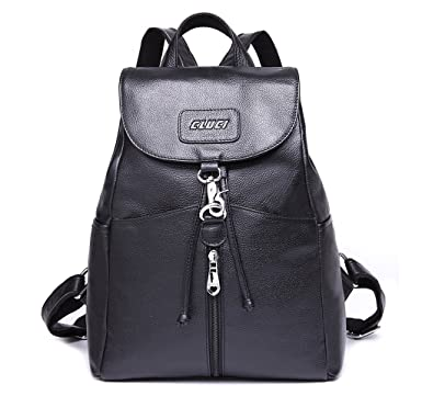 Amazon.com | CLUCI Women Leather Backpack Purse Satchel Shoulder ...