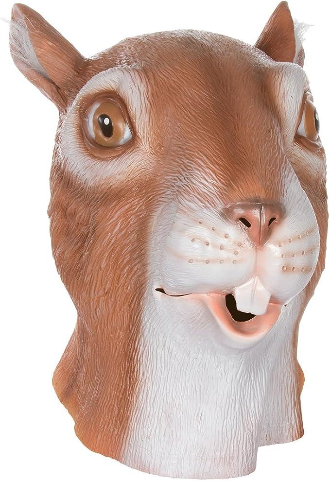 Gigante Animal máscaras por Allures & Illusions – Ardilla Cabeza ...