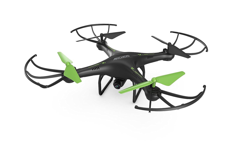 Archos Drone Copter Quadrocopter Drohne max. 25 km h 2,4Ghz 4 Kanäle HD Kamera