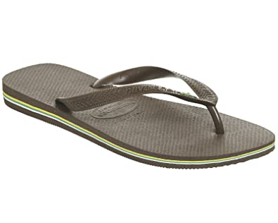 Havaianas Havaianas Brazil Flip Flops Dark Brown clearance shop offer looking for cheap price for sale free shipping sale online outlet low price fee shipping XoSsBTqA