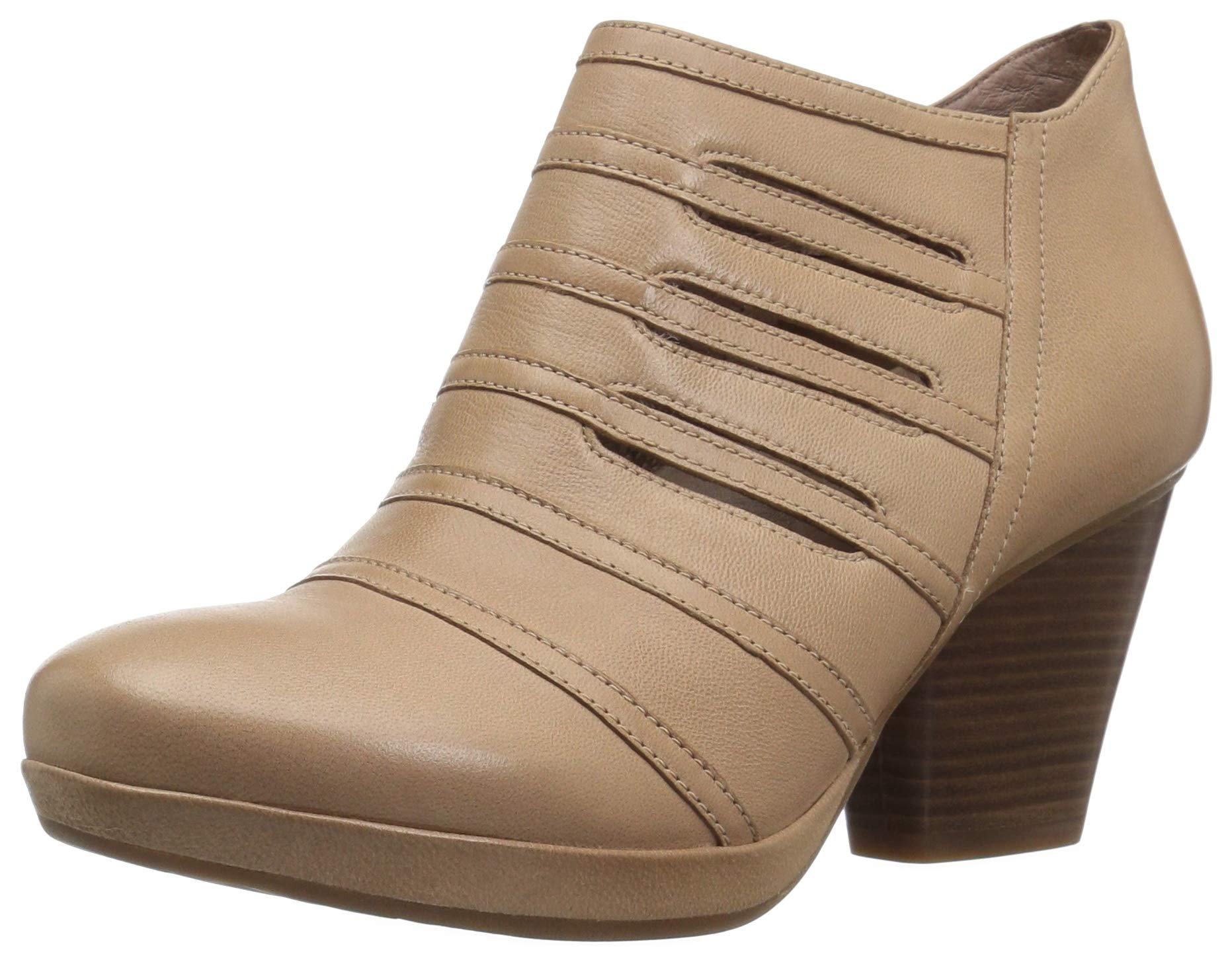 Dansko Women's Meadow Ankle Boot, Sand Nubuck, 41 M EU (10.5-11 US)