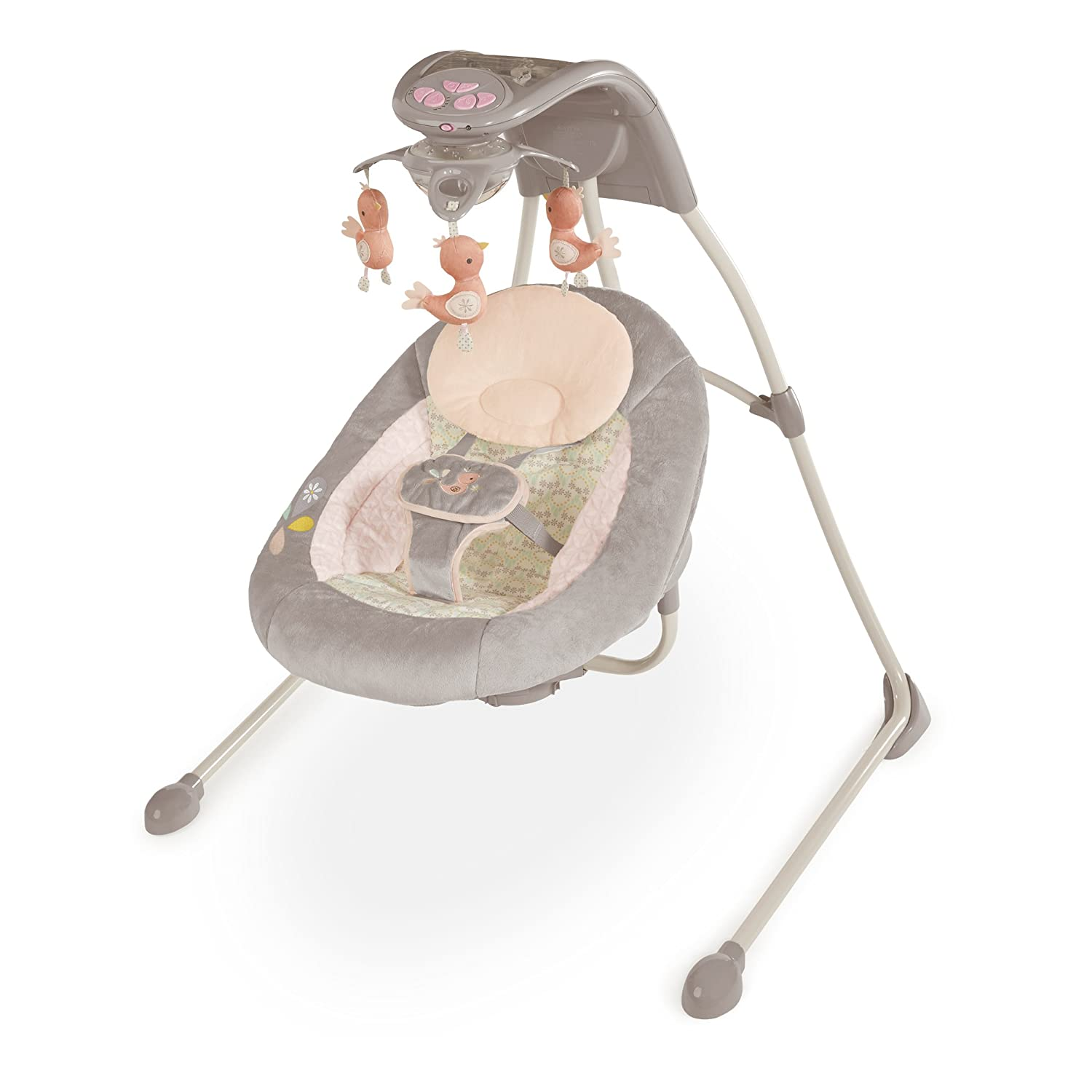 ca347e4f9 Amazon.com : Ingenuity Inlighten Cradling Swing : Baby