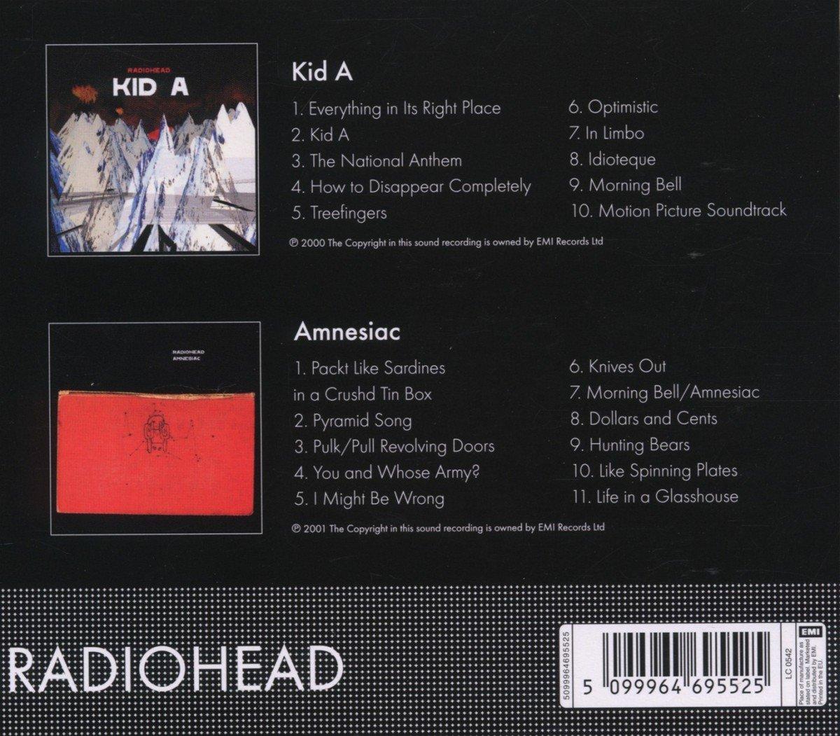 Kid a/Amnesiac: Radiohead: Amazon.es: Música