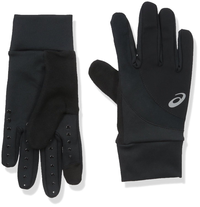 AsicsユニセックスWindblock Glove B01GJJ9V3W  ブラック XL