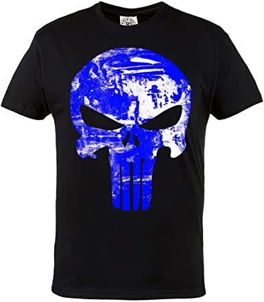 Sportswear./Crossfit Martial Arts Superh/éros Bodybuilding Rule Out T-Shirt./Punisher Training Fitness Casual Gym Superhero