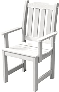 product image for Highwood AD-CHDL2-WHE Lehigh Dining Armchair, White