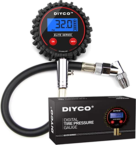 DIYCO D1 Elite Series Digital Tire Pressure Gauge