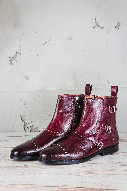 Melvin & & & Hamilton MH11-065, Stivali Donna Rosso Rot 39 EU - e4fd54
