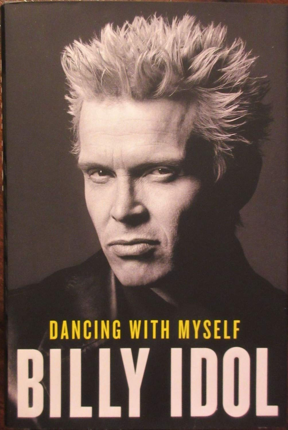 Billy Idol Autographed Signed Book PSA/DNA Authentic