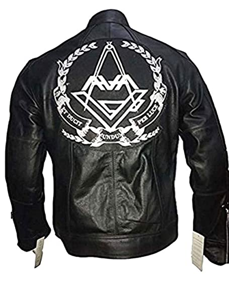 Tom Delonge Angels and Airwaves Love AVA Vintage Men/'s Leather Jacket