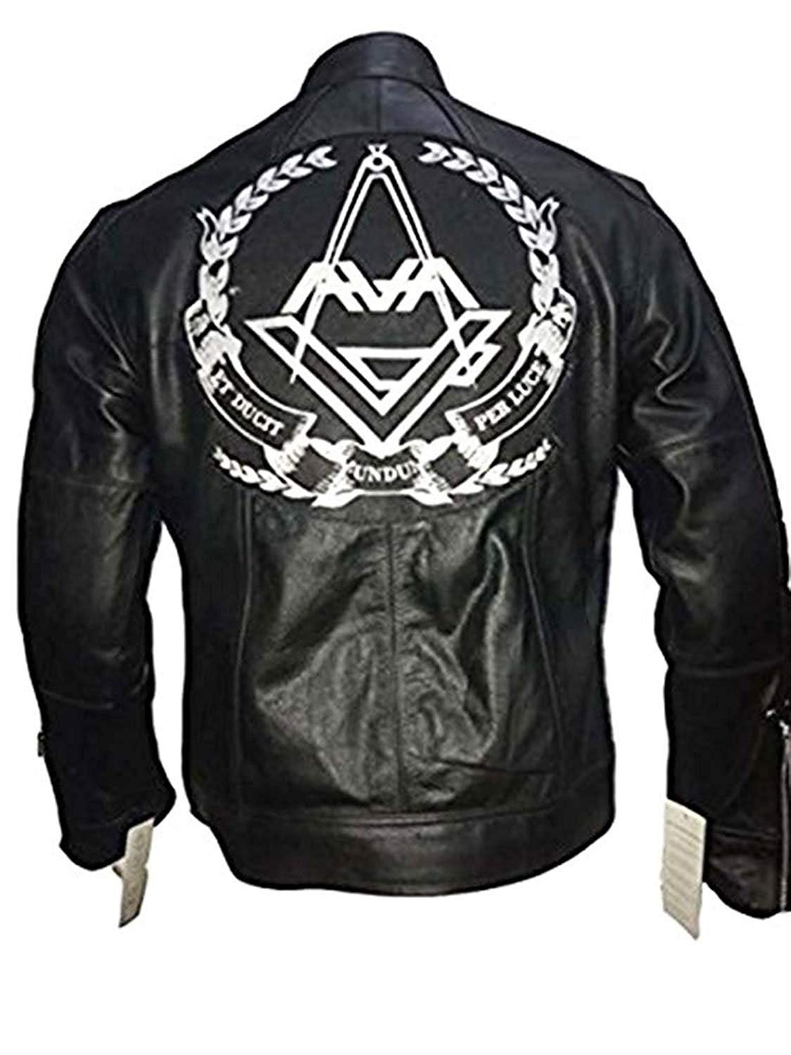 Tom DeLonge Angels and Airwaves Love AVA Vintage Men's Leather Jacket (XXS)