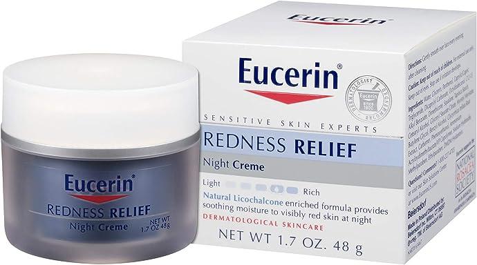 Eucerin 优色林 抗红血丝 修复舒缓晚霜(抗红晚霜)48g装 $13.03 海淘转运到手约¥100 S&S方式订购可再优惠5%