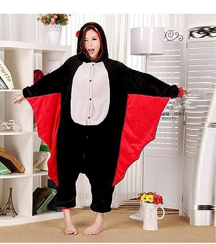 Colorfulworld Pijamas Juguetes y Juegos Animal Ropa Animales Pijama Cosplay Disfraces (XL, murciélago)