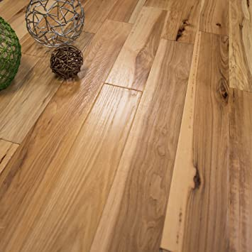 Hickory Character Hand Scraped W 3mm Wear Layer Prefinished