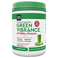 Vibrant Health, Green Vibrance, Plant-Based Superfood Powder, Vegan Friendly, 60 Servings (FFP)