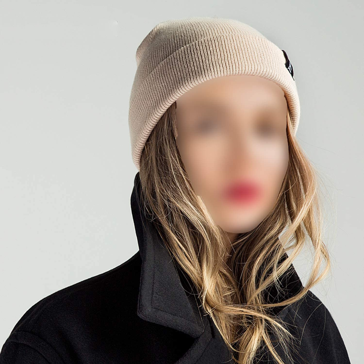 Fashion Knitted Hats Caps for Men Women Hats Warm Winter Hats Solid Color Unisex Cap Drop Shipping