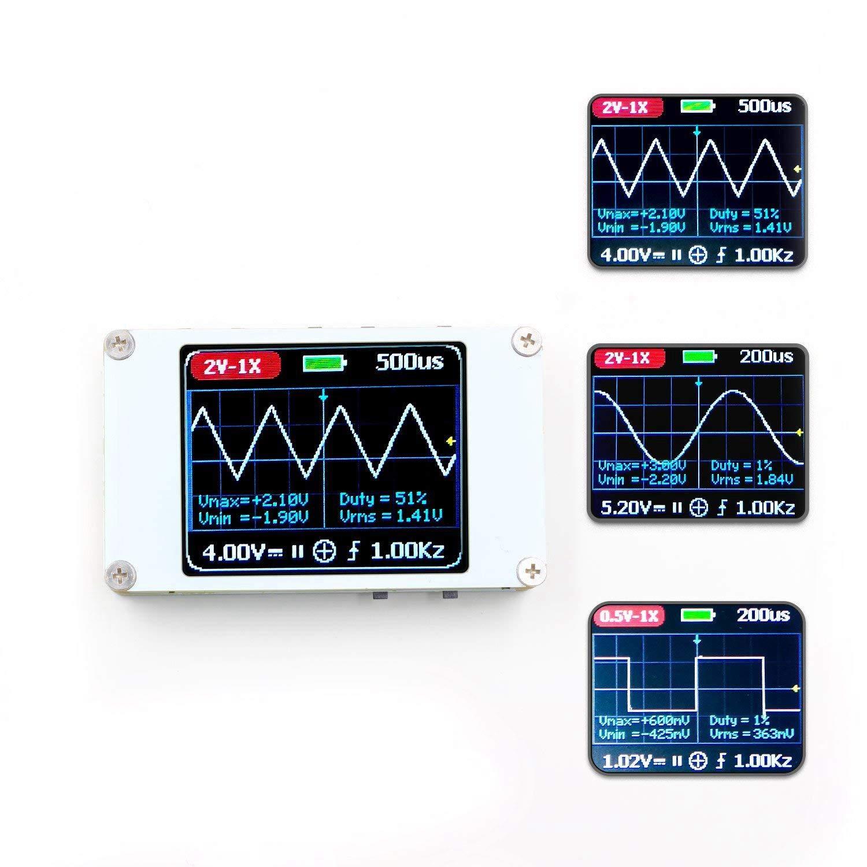 TOOGOO DSO188 Handheld Mini Pocket Portable Ultra-Small Digital Oscilloscope 1M Bandwidth 5M Sample Rate Digital Oscilloscope Kit 179769