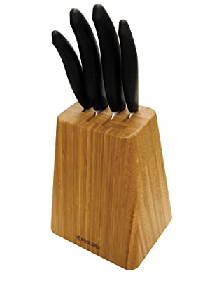 Kyocera Bamboo Knife Block Set