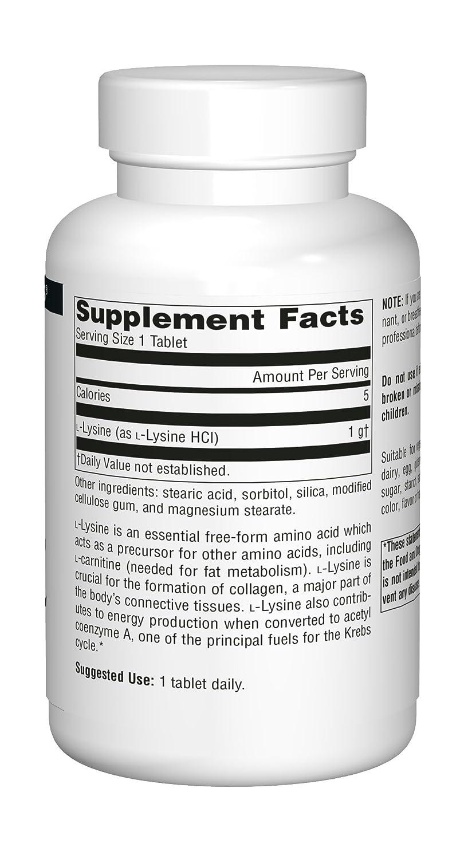 L-Lysine 1000 mg 100 Tablet Pack of 3