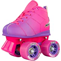 Crazy Skates Rocket Roller Skates for Girls and Boys - Great Beginner Kids Quad Skate - Available in Two Different Colours