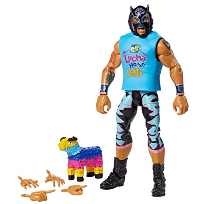 WWE Lince Dorado Elite Collection Action Figure, Multi: Toys & Games