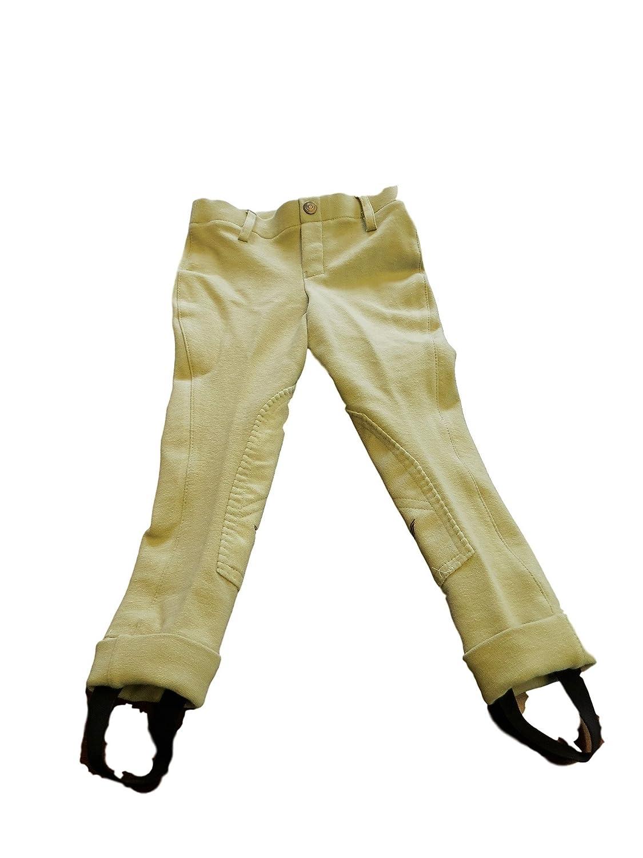 TuffRider Children/'s Starter LowRise Pull-On Knee Patch Breeches