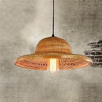 Kronleuchter- Chinesische Bambus-Hüte Retro-Lampenschirm Hut ...