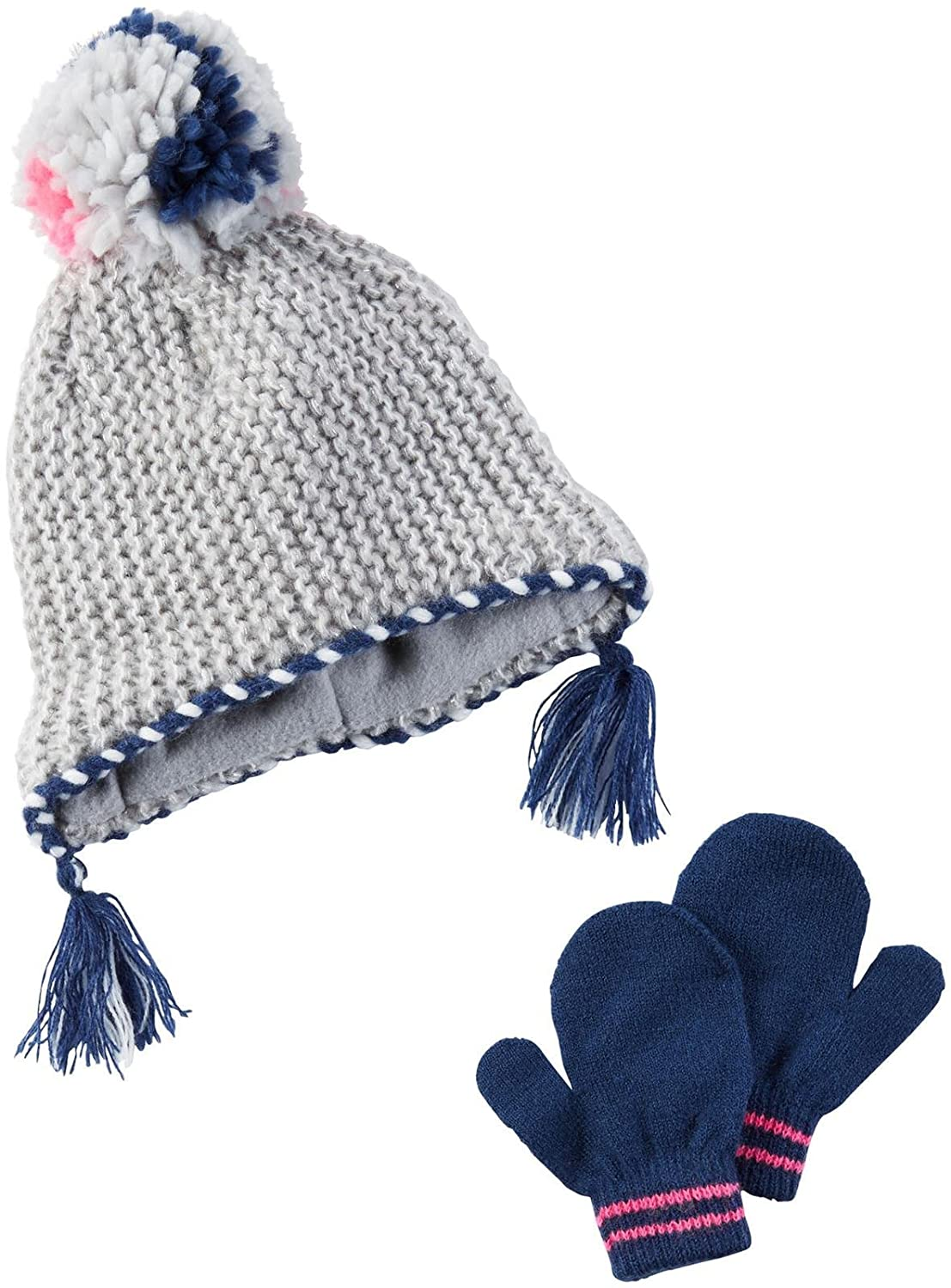 Amazon.com  Carter s Girls  Winter Hat-Glove Sets D08g117 459fcb47db5