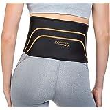 "Copper Fit Back Pro Brace Lower Back Support Compression Belt Size S/M 28""-36"""