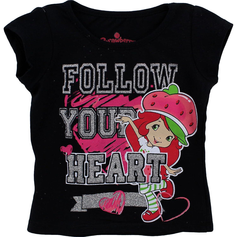 Black t shirt amazon - Amazon Com Strawberry Shortcake Follow Your Heart Black T Shirt 2t 4t 4t Fashion T Shirts Clothing