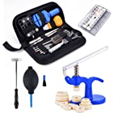Cosway Professional Watch Repair Tool Kit -Case Opener /Hand Remover /Spring Bars with Carrying Case