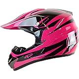 PGR X25 Youth Newage Motocross MX BMX Dirt Bike Dune Buggy Enduro ATV Quad Off Road (Medium, Hot Pink)
