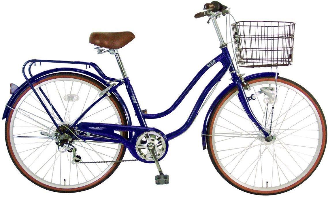 最安 C.Dream(シードリーム) クリオスEXオートライト KRE66-H KRE66-H 26インチ自転車 シティサイクル Dブルー 6段変速 Dブルー 6段変速 100%組立済み発送 B079HGPLCN, オオハルチョウ:24d26c32 --- greaterbayx.co
