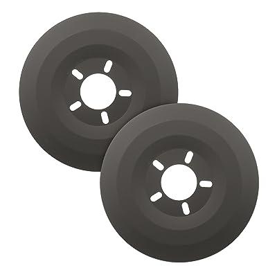 Mr. Gasket 6905 Wheel Dust Shield - Measures 15-Inches: Automotive