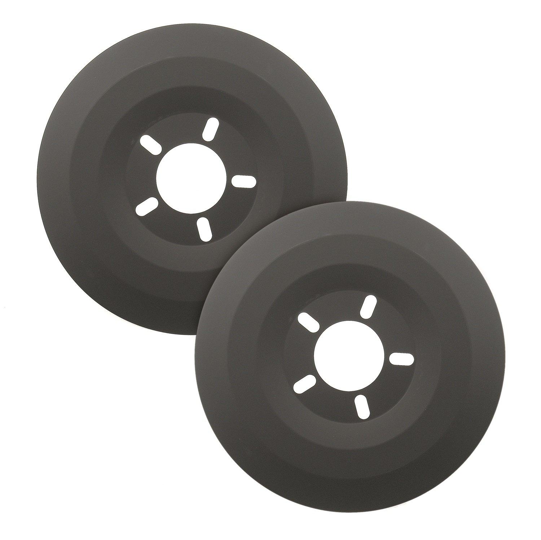 Mr. Gasket 6905 Wheel Dust Shield - Measures 15-Inches by Mr. Gasket