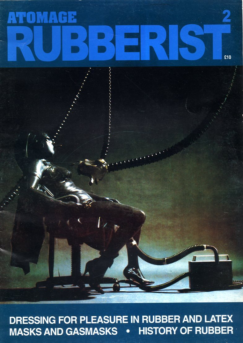 Atomage Rubberist Magazine (Rubber Fetish) No. 2: Amazon.co.uk: John  Sutcliffe: Books