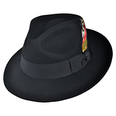 1e7263d8957 Jaxon C-Crown Fedora-Crushable at Amazon Women s Clothing store  Fedora  Small