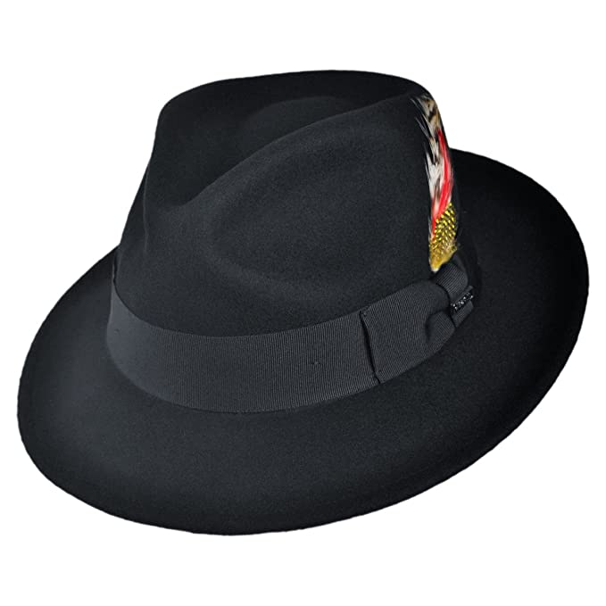 Jaxon Hats Pachuco C-Crown Crushable Fedora Hat ecb70568239