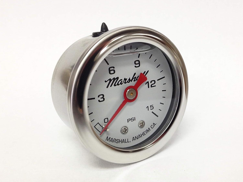 CW00015 Liquid Filled Fuel Pressure Gauge