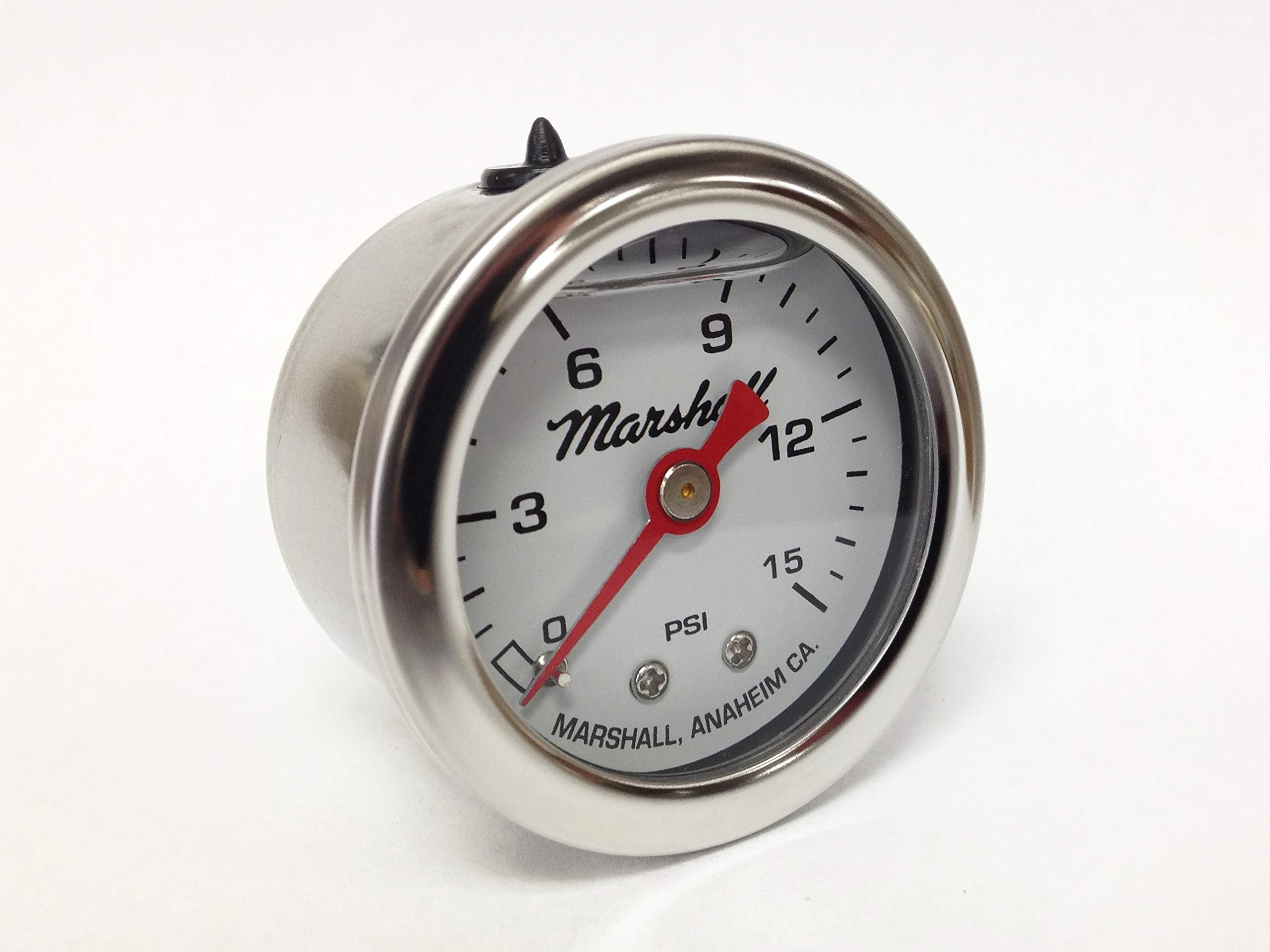 CW00015 Liquid Filled Fuel Pressure Gauge by Marshall Instruments